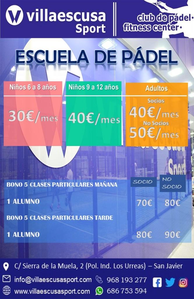 ESCUELA DE PÁDEL