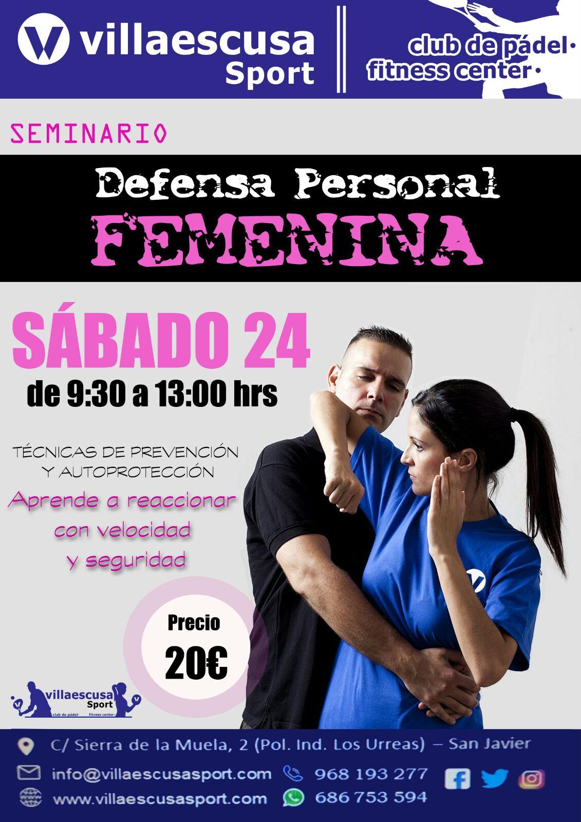 I Seminario Defensa Personal Femenina