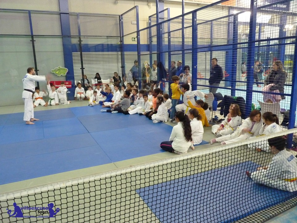 Éxito total en el día del amigo del Club de Judo