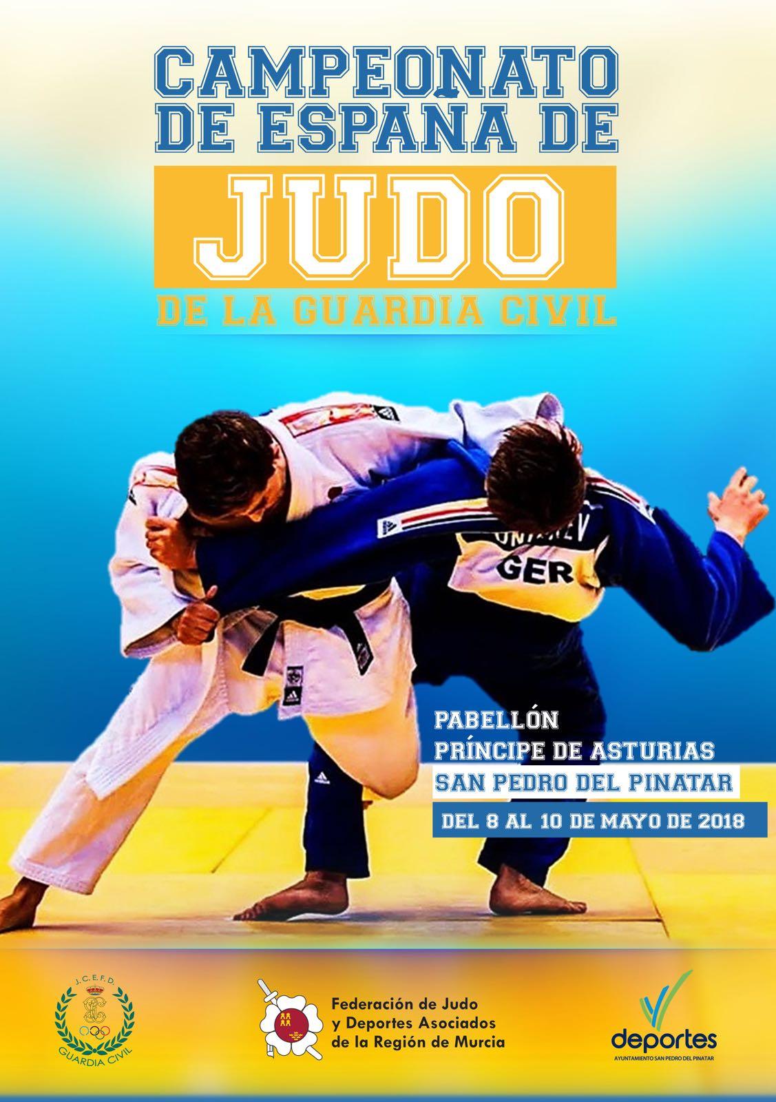 campeonato de España de judo de la Guardia Civil